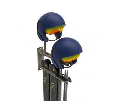 Вешалка-вилка VGL-4 для горных лыж и шлемов.
